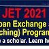 JET (Japan Exchange and Teaching) Programme 2021