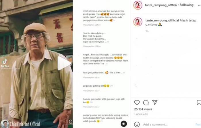 Jackie Chan 2021