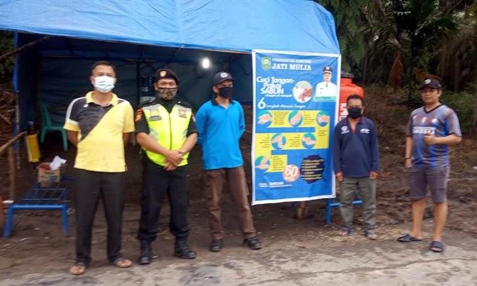 Ketua Senkom Kerinci Kanan Sosialisasi Pencegahan Penyebaran Korona