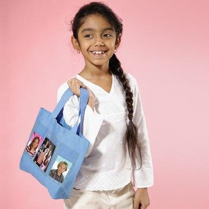 Photo Pocket Tote Bag