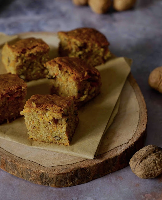 carrot cake , recette gourmande , cake d'hiver , comfort food , cannelle
