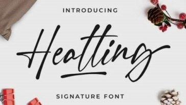 FREE Download Heatting Font