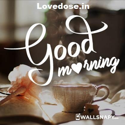 good morning tea image