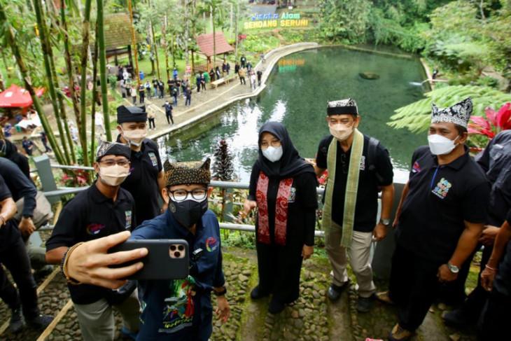 Sandiaga Uno sebut Banyuwangi etalase ekonomi kreatif terbaik Indonesia