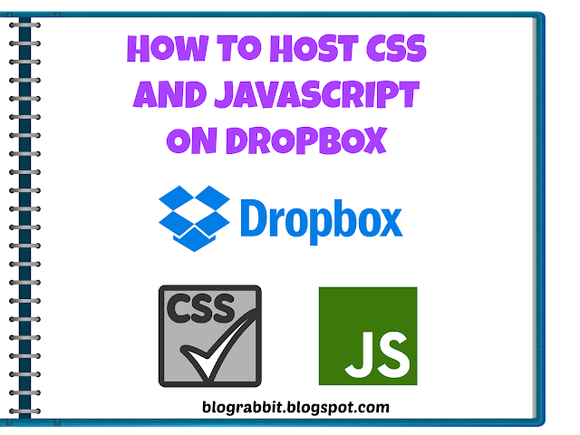 Alternative to Gdrive:Host JS and CSS on Dropbox