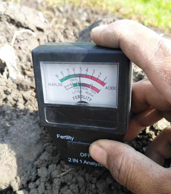cara penggunaan pH meter tanah, cara kerja pH meter tanah