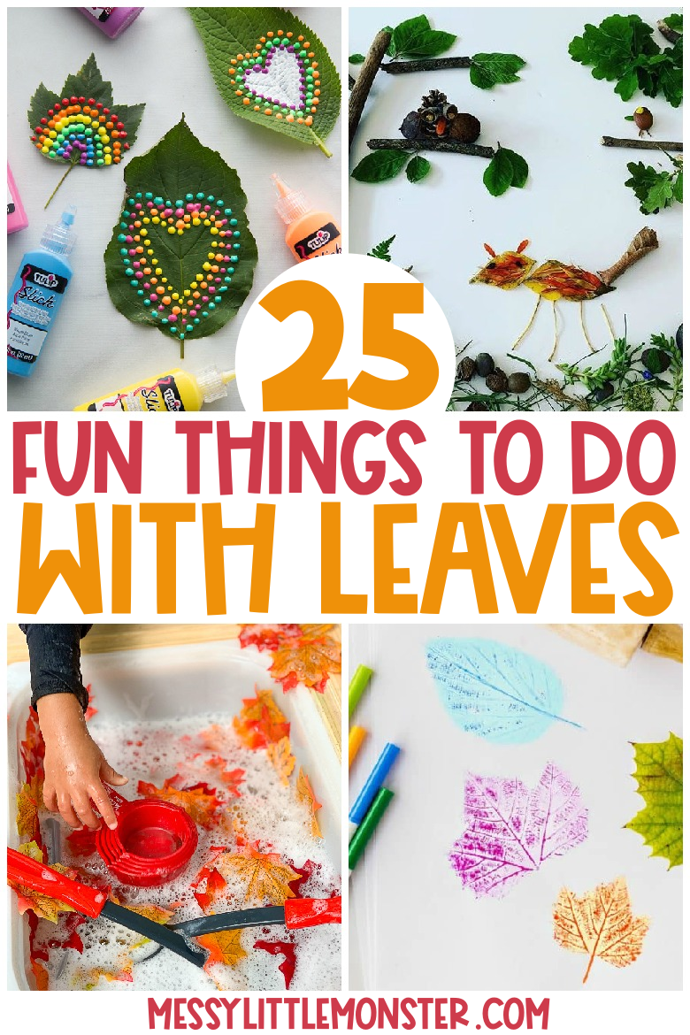 fun things to do with leaves