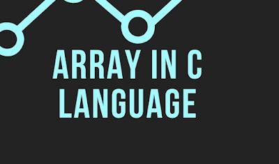 Array in c language in hindi - c language array in hindi
