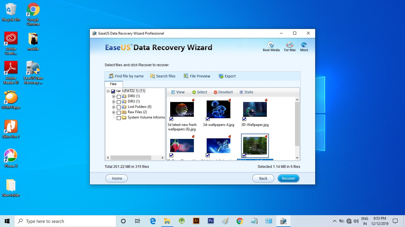 how to recover deleted files from pc after formatting