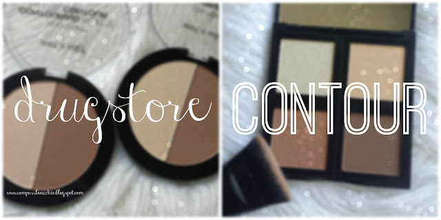 drugstore contour palettes- elf and wet n wild review