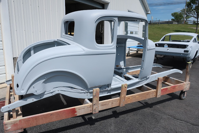 1932 Ford 5W Coupe - Barn Find