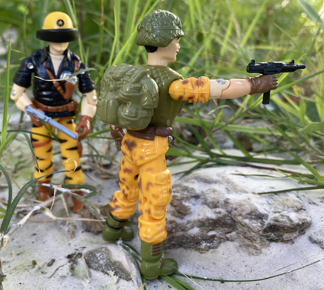 1986 Claymore, Mission to Brazil, Toys R Us Exclusive, 2020 Black Major, 1997 Snake Eyes, Tiger Force Starduster
