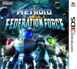 Metroid Prime: Federation Force, 3DS, Español, Mega, Mediafire
