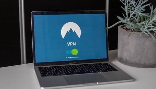 PC画面にVPNロゴ