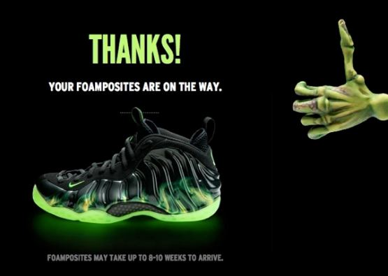 quality design dcf06 bef94 THE SNEAKER ADDICT: Nike Foamposite Paranorman Sneakers ...
