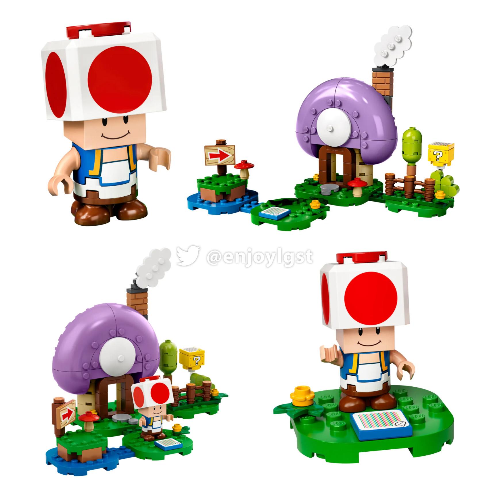 77907 キノピオの隠れ家:レゴ(LEGO)スーパーマリオ新製品情報:米公式で販売開始(2020)