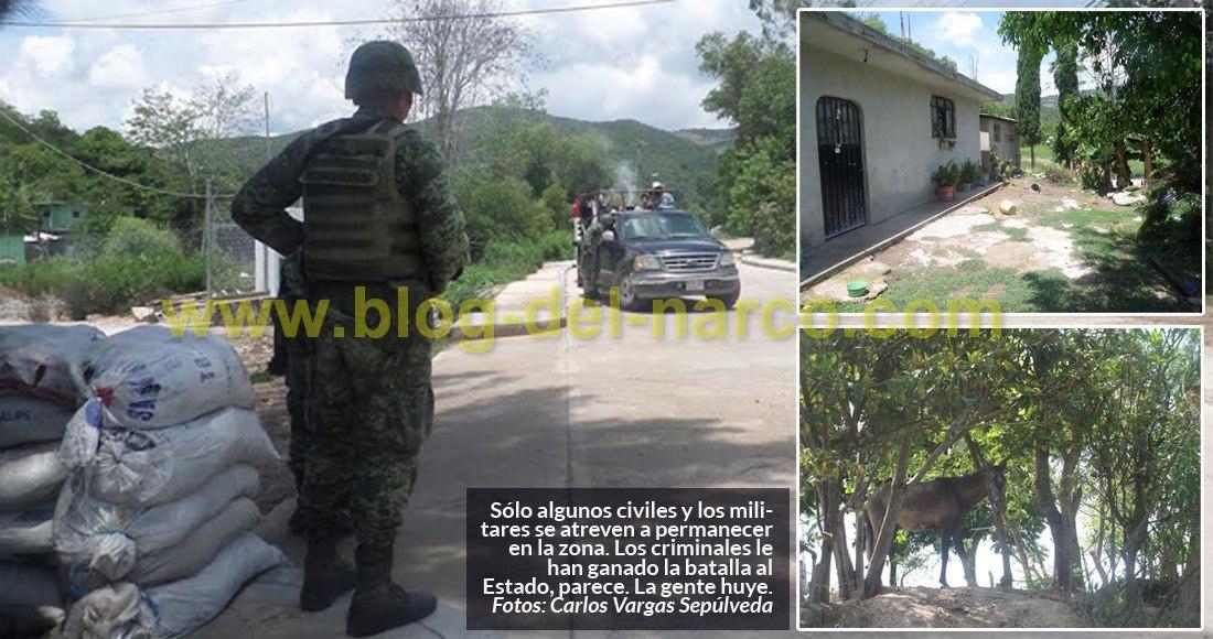 El Estado perdió Chilapa, Guerrero. Los pueblos se vacían, la gente huye como puede
