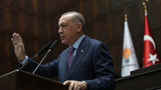 Ερντογάν: Μείνετε στα σπίτια σας