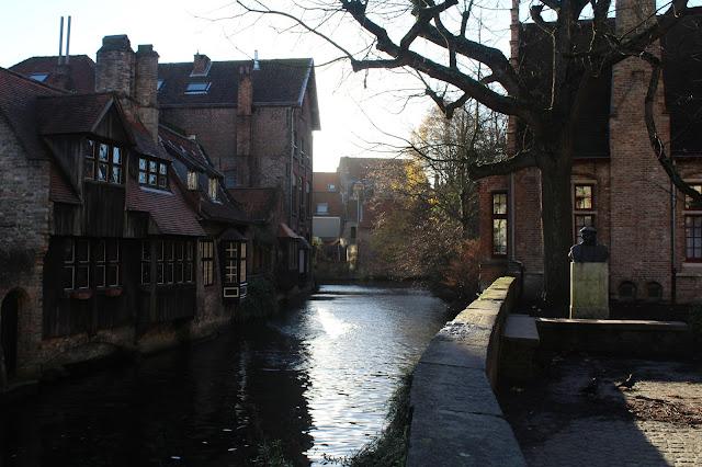 canal in belgium