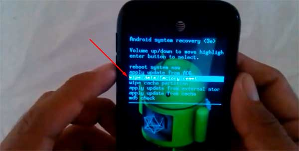 restablecer teléfono ZTE Z992