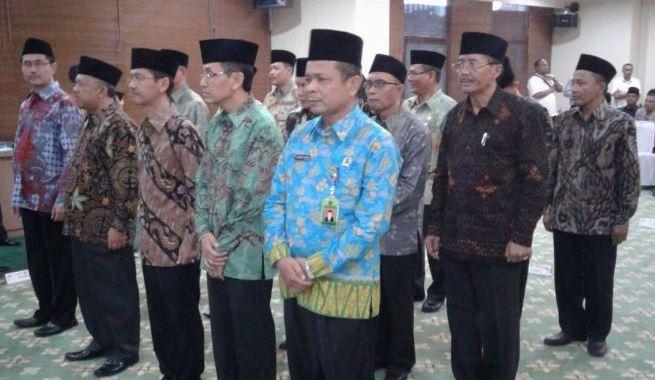 Ahmad Supardi, Kakankemenag Rokan Hulu Dilantik Menjadi Kakanwil Kemenag Riau