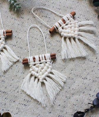 xmas ornaments cinnamon