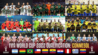 South America World Cup 2022 Qualifiers,Paraguay–Brazil,Moroccan Professional Inwi Botola 1,Wydad Athletic Club–Difaa Hassani El Jadidi,Renaissance de Berkane–Youssoufia Berrechid,Chile – Bolivia