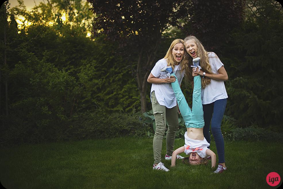 pomysły na zdjęcia rodzinne