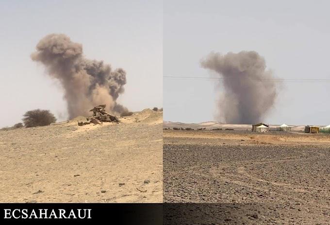 Las explosiones en Smara ocupada: probablemente no se tratan de un ataque del Ejército de Liberación Saharaui.