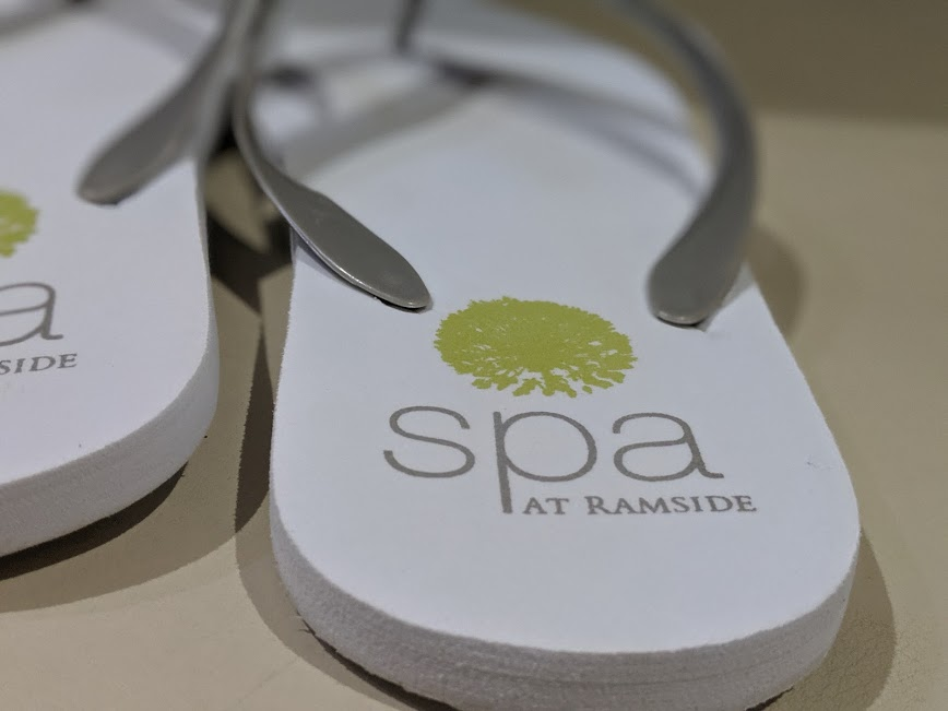 13 Reasons Why Ramside Spa is the Best North East Spa - flip flops