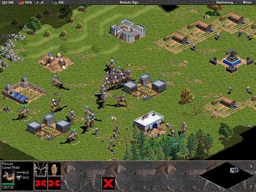 Buộc phải có khá nhiều thời gian chiến để cải thiện đẳng cấp đấu Age of Empires