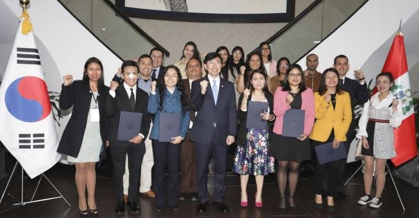 PRONABEC: Becarios peruanos viajarán a Corea a fines de agosto para estudiar maestrías - www.pronabec.gob.pe