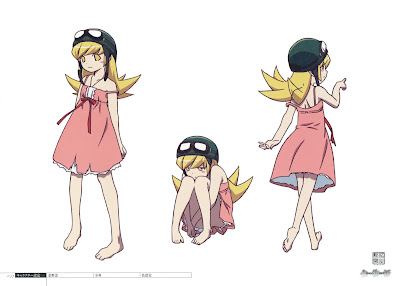 Shinobu trong Bakemonogatari