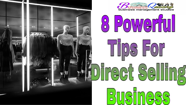 My Own Tips For Direct Selling Business That You Can Apply