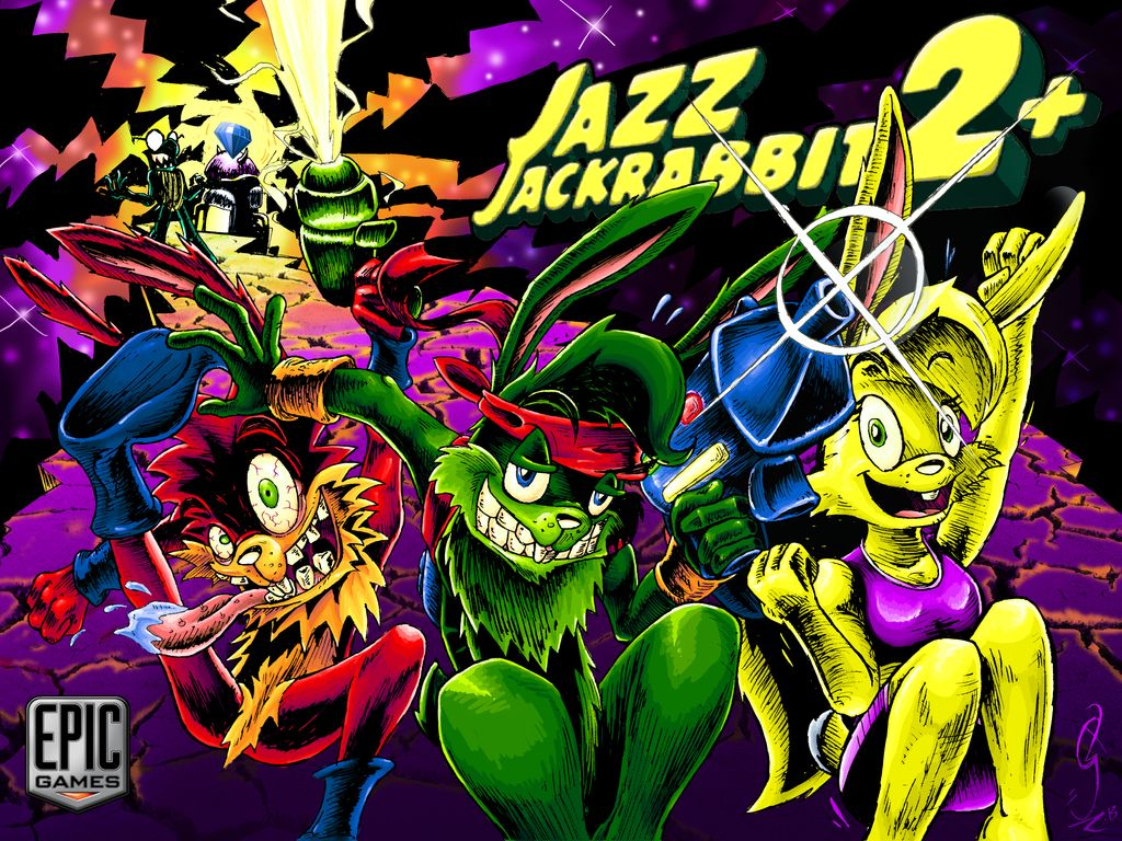 تحميل لعبة جاز جاك الأرنب الجزء الثاني - Jazz Jackrabbit 2