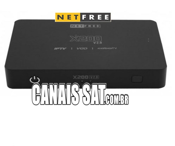 Netfree X200 V2 Nova Atualização V006 - 26/04/2020