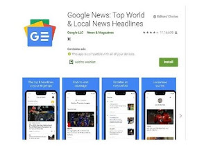 Google News app updated to read bilingual support