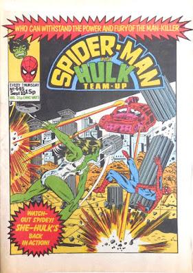 Spider-Man and Hulk Team-Up #445, She-Hulk