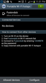 Share WiFi on Android