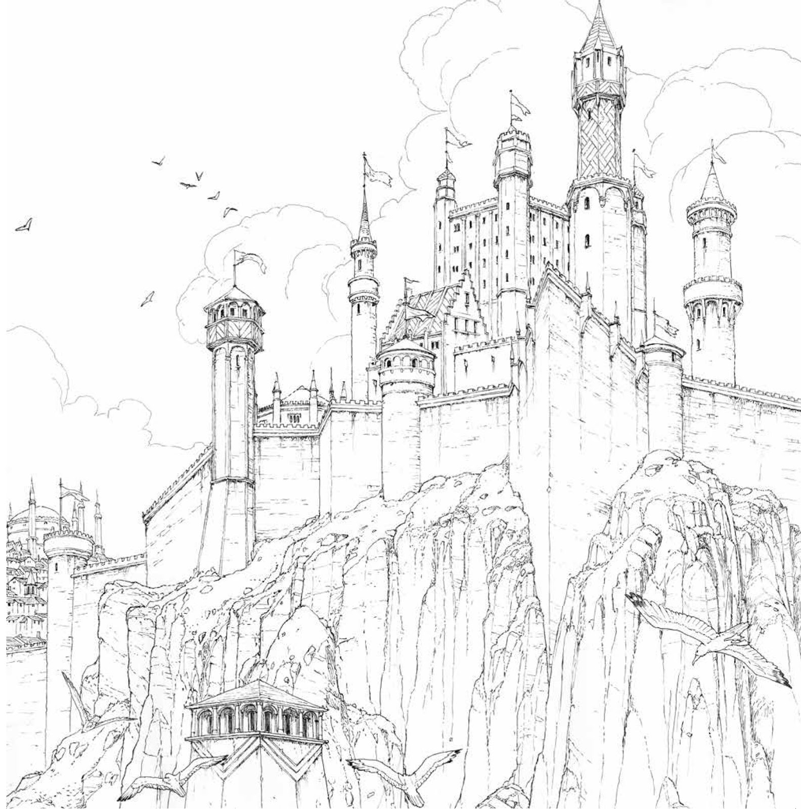 DYWYHSM: wishlist: The Official A Game of Thrones Coloring Book