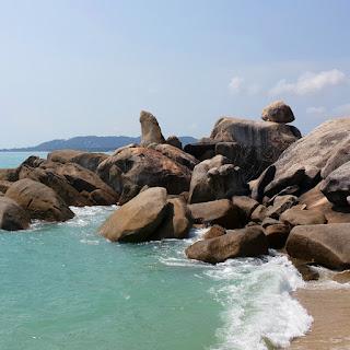 Hin Ta Hin Yai, particolare della roccia Grandpa