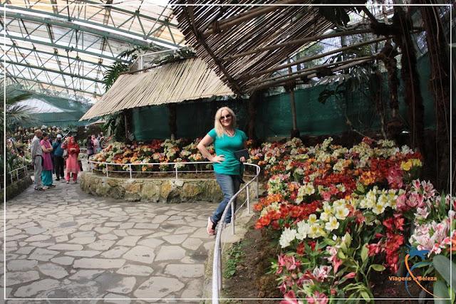 Centro de Exibição de Flores - Gangtok - Índia