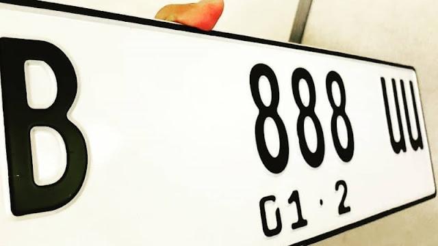Dari Hitam, Pelat Nomor Kendaraan Akan Berubah Menjadi Putih
