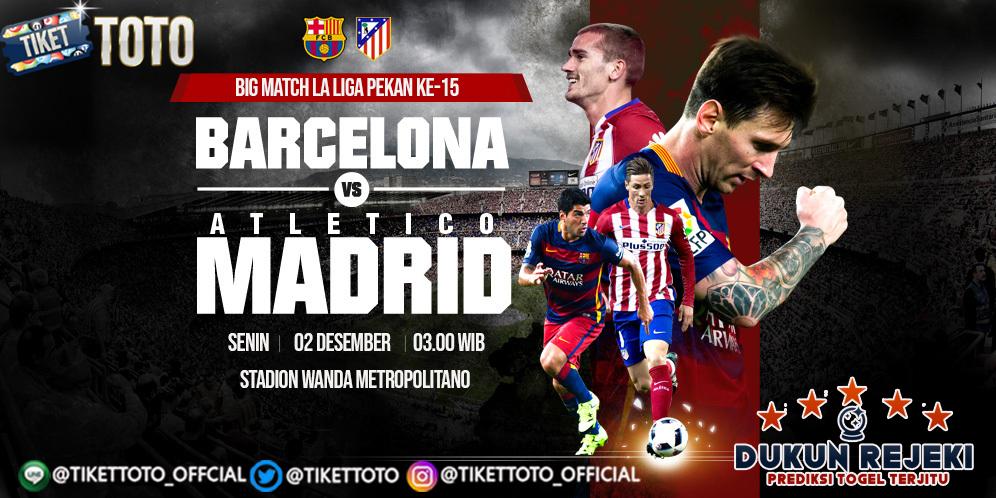 Prediksi Atletico Madrid vs Barcelona 02 Desember 2019