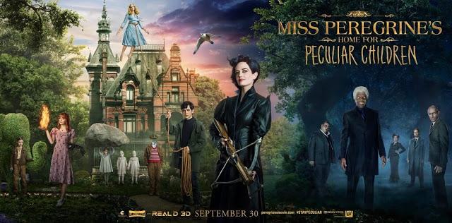 """Terceiro livro da série """"O Lar da Srta.Peregrine Para"""