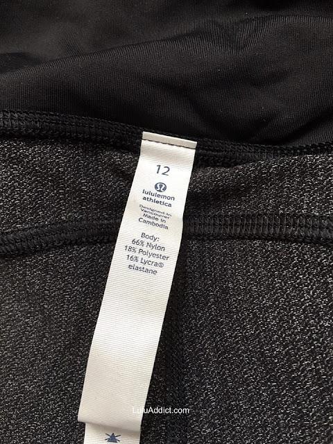 lululemon speed-tight variegated-knit