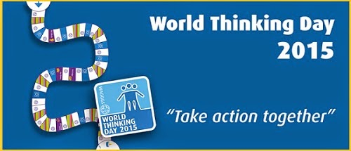 logo World Thinking Day 2015