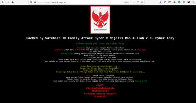 Retas 10 Website Pemerintah Daerah, Hacker Mengatasnamakan 'Majelis Rasulullah' Minta Polisi Lakukan Ini