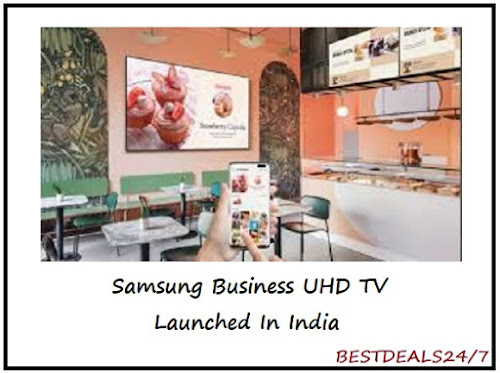 Samsung Launches New Range of UHD TVs in India