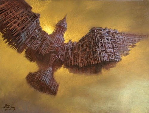 08-Ornitopolis-Marcin-Kołpanowicz-Painting-Architecture-in-Surreal-Worlds-www-designstack-co